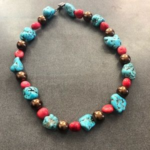 Jewelry - Women's handmade chunky necklace